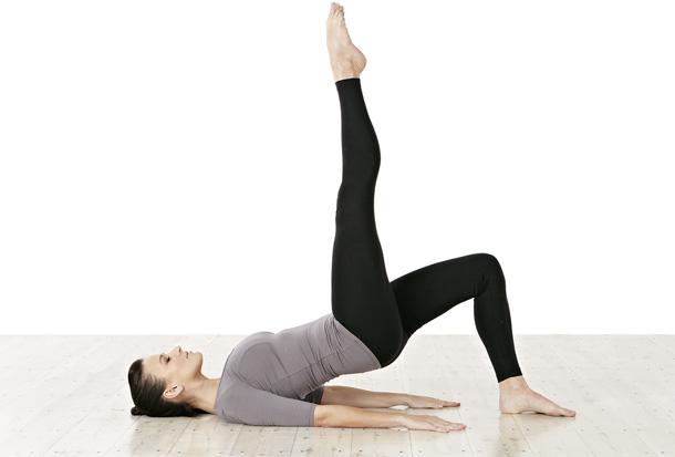 Pilates: Brücke