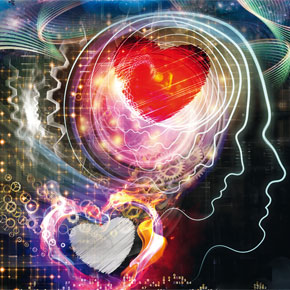 Das Gehirn auf Liebe schalten