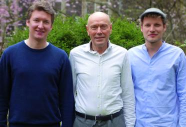 von links: Manuel Ronnefeldt, Paul J. Kohtes, Jonas Leve