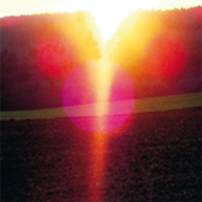 licht bis zur erde
